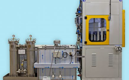 MCR Waschanlage für Rohre
