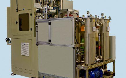 Maszyna do mycia korpusów amortyzatorów - widok ogólny