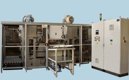 Maszyna do przewężania rur MPR 2 - widok z przodu