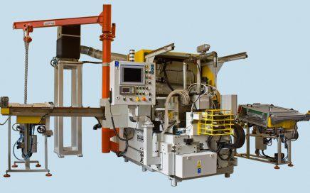 Exzenterschleifmaschine Cincinnati 3-500 mit Kolbenstangenvorschub und Aufnahmesystem