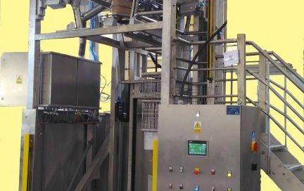 Zuführmaschine für Futtermittel – Big Bag