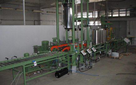 Produktionslinie für konische Zylinder